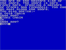 In game image of The Citadel of Chaos on the Sinclair ZX Spectrum.