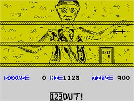 In game image of The Ice Temple on the Sinclair ZX Spectrum.