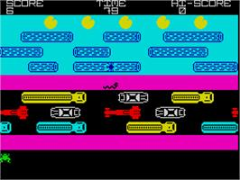 In game image of Trigger on the Sinclair ZX Spectrum.