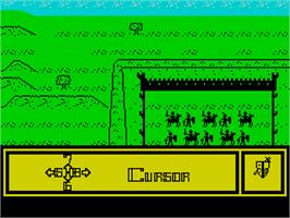 In game image of TwinWorld: Land of Vision on the Sinclair ZX Spectrum.