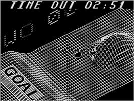In game image of Vectorball on the Sinclair ZX Spectrum.