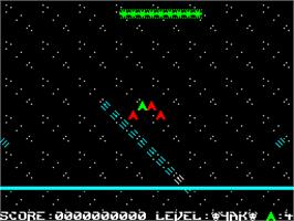 In game image of Voidrunner on the Sinclair ZX Spectrum.