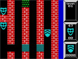 In game image of Xor on the Sinclair ZX Spectrum.