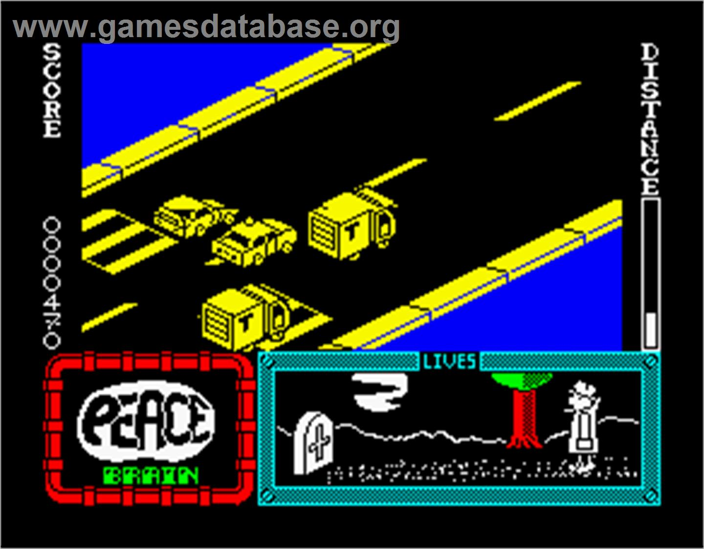 Devon Aire in the Hidden Diamond Caper - Sinclair ZX Spectrum - Artwork - In Game