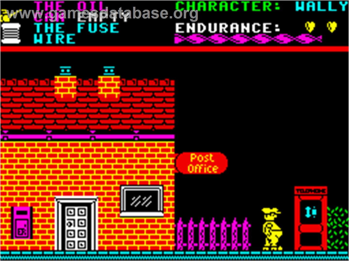 everyone u0027s a wally zx spectrum old computer games pinterest