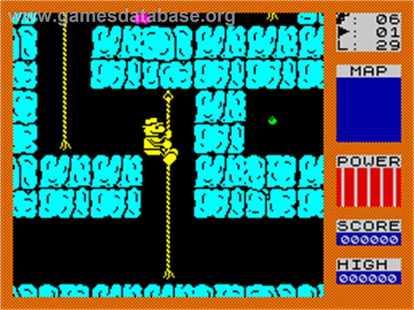 Fred - Sinclair ZX Spectrum - Artwork - In Game