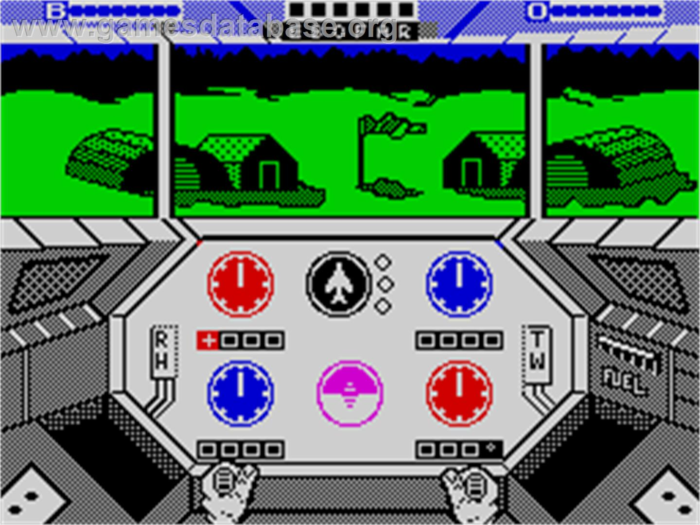 Infiltrator - Sinclair ZX Spectrum - Artwork - In Game
