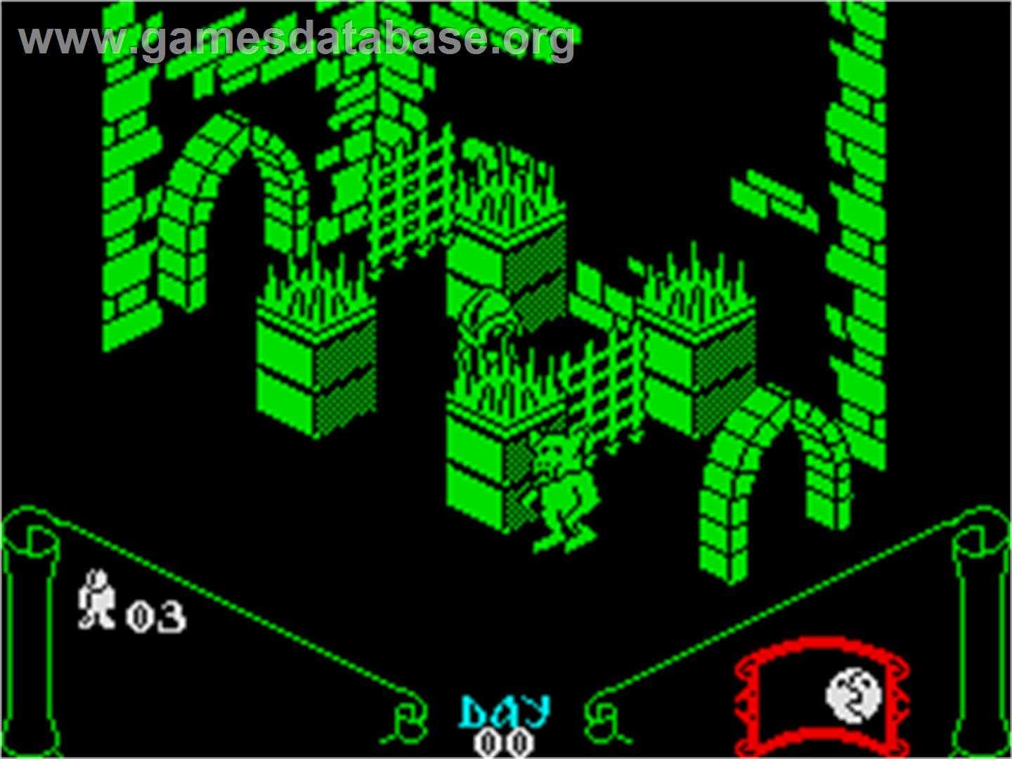 Knight Lore Sinclair Zx Spectrum Games Database