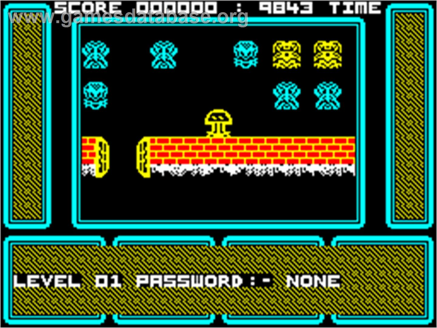 One Man and His Droid - Sinclair ZX Spectrum - Artwork - In Game