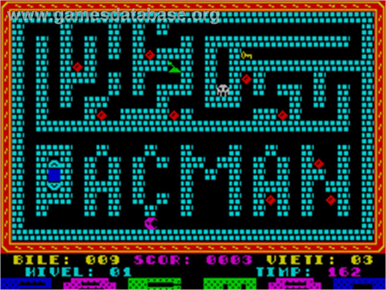 Pac-man - Sinclair Zx Spectrum