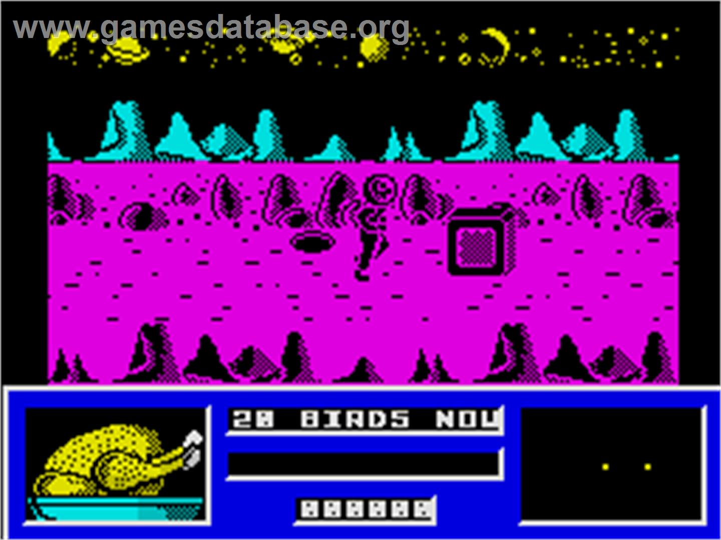 Star Paws - Sinclair ZX Spectrum - Artwork - In Game
