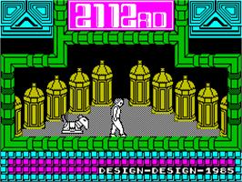 Title screen of 2112 AD on the Sinclair ZX Spectrum.