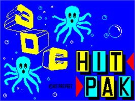 Title screen of 3DC on the Sinclair ZX Spectrum.