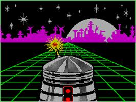 Title screen of Alien Highway: Encounter 2 on the Sinclair ZX Spectrum.