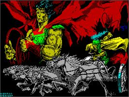 Title screen of Coliseum on the Sinclair ZX Spectrum.