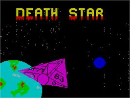 Title screen of Death Sword on the Sinclair ZX Spectrum.