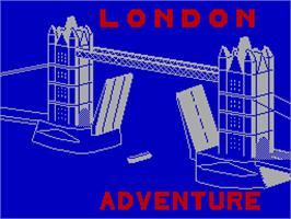 Title screen of Dungeon Adventure on the Sinclair ZX Spectrum.
