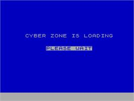 Title screen of E-SWAT: Cyber Police on the Sinclair ZX Spectrum.