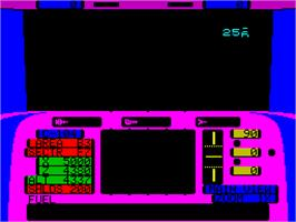 Title screen of Echelon on the Sinclair ZX Spectrum.