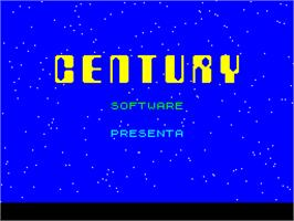 Title screen of Frenzy on the Sinclair ZX Spectrum.