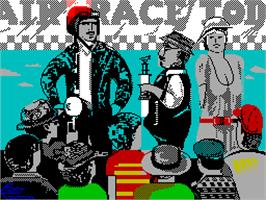 Title screen of Gee Bee Air Rally on the Sinclair ZX Spectrum.