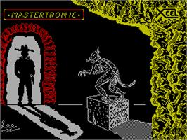 Title screen of How to be a Hero on the Sinclair ZX Spectrum.
