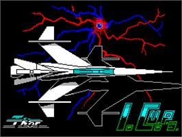 Title screen of I.C.U.P.S. on the Sinclair ZX Spectrum.