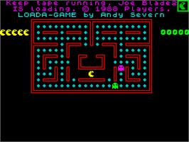 Title screen of Joe Blade II on the Sinclair ZX Spectrum.