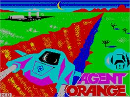 Title screen of La Aventura Original on the Sinclair ZX Spectrum.