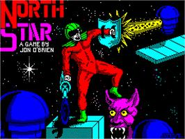 Title screen of NorthStar on the Sinclair ZX Spectrum.