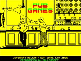 Title screen of Now Games 2 on the Sinclair ZX Spectrum.