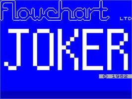 Title screen of Power on the Sinclair ZX Spectrum.