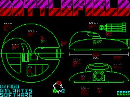 Title screen of Quattro Firepower on the Sinclair ZX Spectrum.