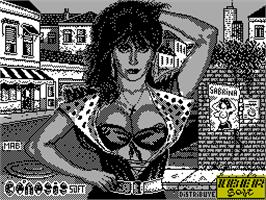 Title screen of Sabrina on the Sinclair ZX Spectrum.