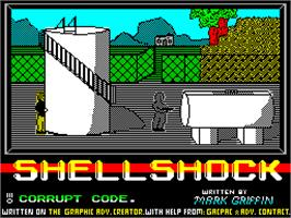 Title screen of Sherlock on the Sinclair ZX Spectrum.