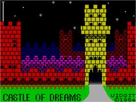 Title screen of Silicon Dreams on the Sinclair ZX Spectrum.
