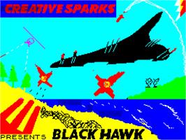 Title screen of The Black Hole on the Sinclair ZX Spectrum.