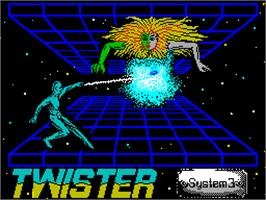 Title screen of Twister: Mother of Charlotte on the Sinclair ZX Spectrum.