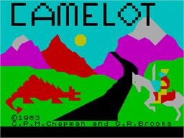 Title screen of Z-Pilot on the Sinclair ZX Spectrum.