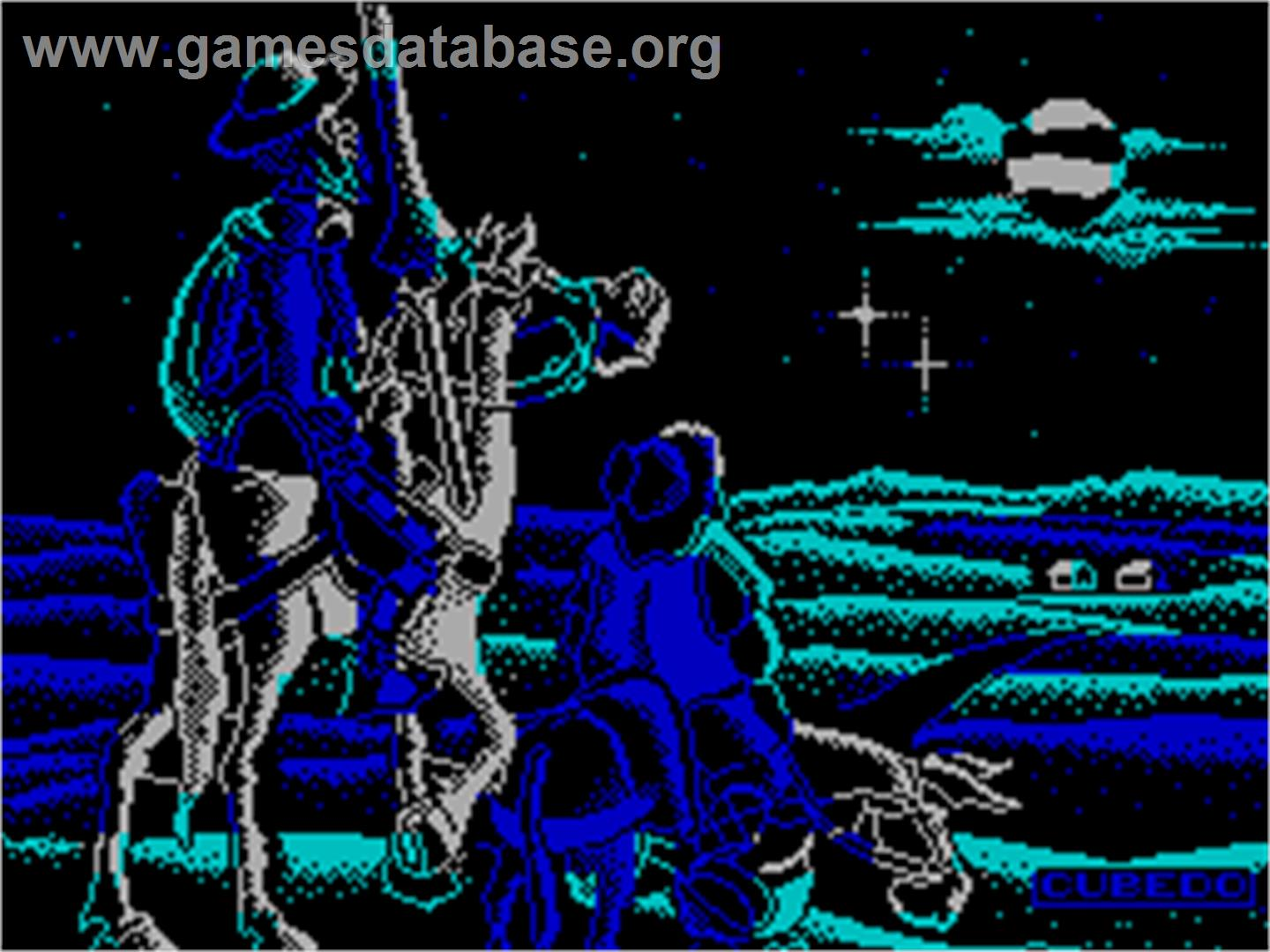 Don Quijote - Sinclair ZX Spectrum - Artwork - Title Screen
