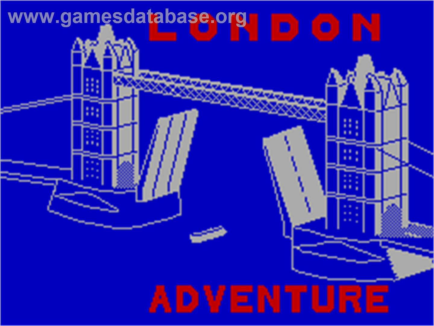 Dungeon Adventure - Sinclair ZX Spectrum - Artwork - Title Screen