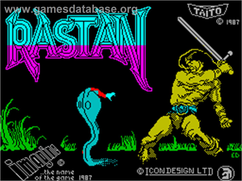 Rastan - Sinclair ZX Spectrum