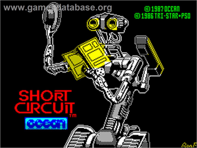 short circuit sinclair zx spectrum artwork title screen rh gamesdatabase org ZX Spectrum Wallpaper Sinclair ZX81 Games