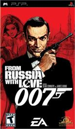 Box cover for 007: From Russia with Love on the Sony PSP.