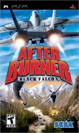 Box cover for After Burner: Black Falcon on the Sony PSP.