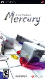 Box cover for Archer Maclean's Mercury on the Sony PSP.