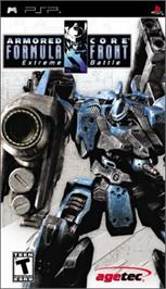 Box cover for Armored Core: Formula Front - Extreme Battle on the Sony PSP.