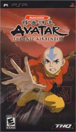 Box cover for Avatar: The Last Airbender on the Sony PSP.