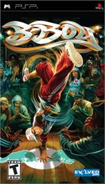 Box cover for B-Boy on the Sony PSP.