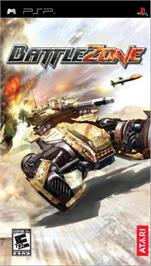 Box cover for Battle Zone on the Sony PSP.